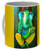 Ganesh In Garden Coffee Mug
