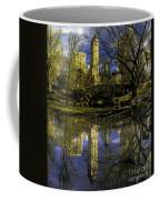 Gapstow Bridge In Central Park Coffee Mug