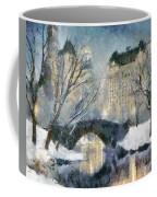 Gapstow Bridge In Snow Coffee Mug