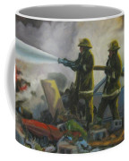 Garage Fire Coffee Mug