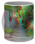 Garden Alley - Use Red-cyan 3d Glasses Coffee Mug