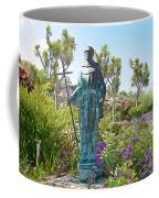Garden At Carmel Mission-california Coffee Mug