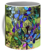 Garden Colored Fan Coffee Mug