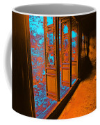 Garden Doorway Coffee Mug