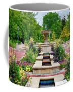 Garden Fountain Coffee Mug