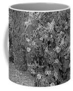 Garden Hydrangeas In Grayscale Coffee Mug