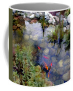 Garden Koi Pond Coffee Mug