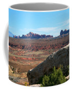 Garden Of Eden Rock Formations, Arches National Park, Moab Utah Coffee Mug