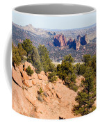 Garden Of The Gods And Springs West Side Coffee Mug