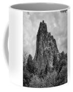 Garden Of The Gods Monotone Coffee Mug
