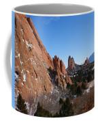 Garden Of The Gods Winter Coffee Mug