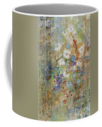 Garden Of White Flowers Coffee Mug