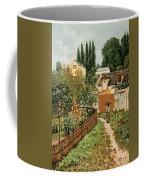 Garden Path In Louveciennes Coffee Mug