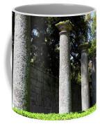 Garden Pillars Coffee Mug