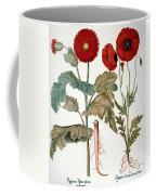 Garden Poppy Coffee Mug