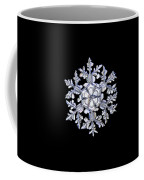 Gardener's Dream, White On Black Version Coffee Mug