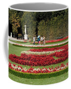 Gardens Of The Schloss  Schonbrunn  Vienna Austria Coffee Mug