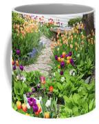 Gardens Of Tulips Coffee Mug