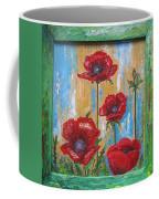 Gardens Poppy Coffee Mug