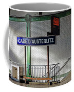 Gare D'austerlitz In Paris, France Coffee Mug