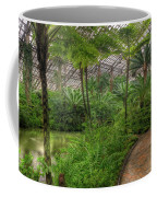 Garfield Park Conservatory Pond And Path Chicago Coffee Mug