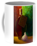 Garlic And Oil Coffee Mug by Shannon Grissom
