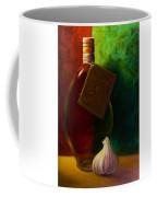 Garlic And Oil Coffee Mug by Shannon Grissom