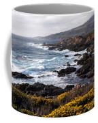 Garrapata Beach In Big Sur Coffee Mug
