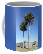 Garrita And Palms At The Fort Coffee Mug