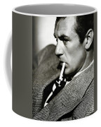 Gary Cooper Smoking C.1935 Coffee Mug