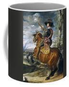Gaspar De Guzmn Conde-duque De Olivares A Caballo Diego Rodriguez De Silva Y Velazquez Coffee Mug