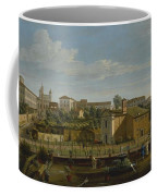 Gaspar Van Wittel  Called Vanvitelli Amersfoort 1652    1736   Rome  A View Of The Church Of Santi M Coffee Mug