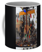 Gasparilla Ship Poster Coffee Mug