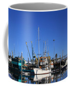 Glassy Harbor Reflection Coffee Mug