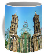 Gate And Cathedral Coffee Mug