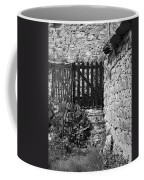 Gate At Dunguaire Castle Kinvara Ireland Coffee Mug
