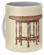 Gate Leg Table Coffee Mug