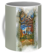 Gates To Knowledge Princeton University Coffee Mug