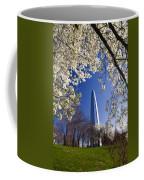 Gateway Arch With Cherry Tree In Bloom. Coffee Mug