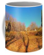 Gateway To A No Trespassing Farm Coffee Mug