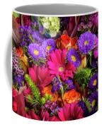 Gathered Garden Flowers Coffee Mug