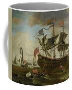 Gathering Of English Ships Coffee Mug