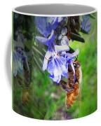 Gathering Rosemary Pollen Coffee Mug