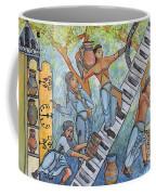 Gathering Water In The 13th Century Coffee Mug