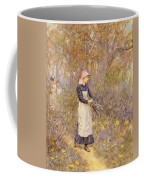 Gathering Wood For Mother Coffee Mug