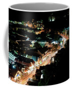 Gatlinburg, Tennessee At Night From The Space Needle Coffee Mug