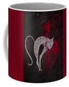Gato De Rojo Coffee Mug