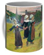 Gauguin, Breton Girls, 1888 Coffee Mug