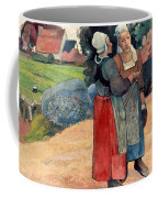 Gauguin: Breton Women, 1894 Coffee Mug