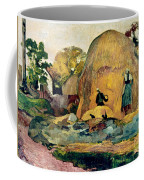 Gauguin: Haystacks, 1889 Coffee Mug